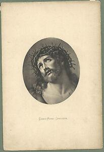 Lamina-antigua-del-Ecce-Homo-andachtsbild-santino-holy-card-santini
