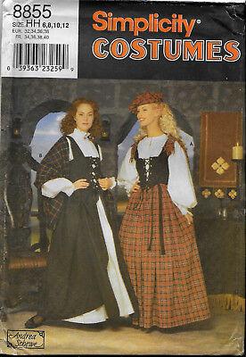 Schottisches Kleid Schnittmuster Historische Kostüme Reenactment