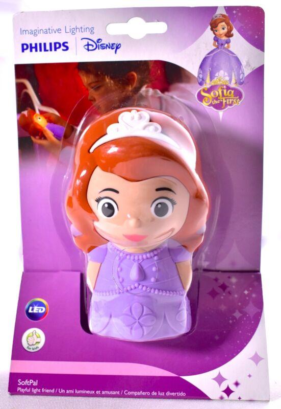 SOFIA THE FIRST Philips Disney SoftPal LED Night Light Friend 71768/06/48 >NEW<