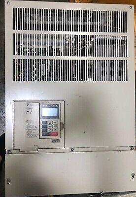 Yaskawa Cimr-f7u4075 125 Hp F7 Drive Input Ac3ph 380-480v 150a