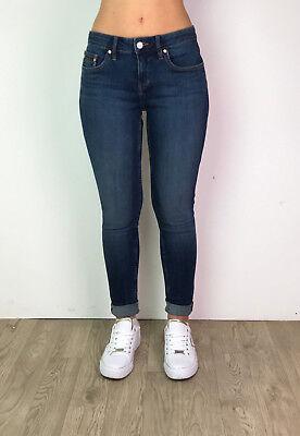 Womens Skinny Denim Jeans Ladies Ex Designer Casual Slim Skinny Dark