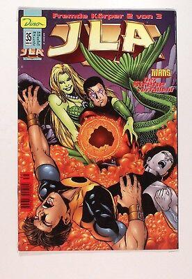 JLA, Titans Der Sirene verfallen! # 35/2000, Fremde Koerper 2 von 3 Dino Comics