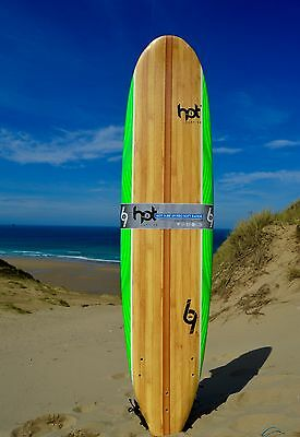 "8""0 ft Hotsurf 69 Softboard Beginners Surfboards Learners Board inc Leash /Fins"
