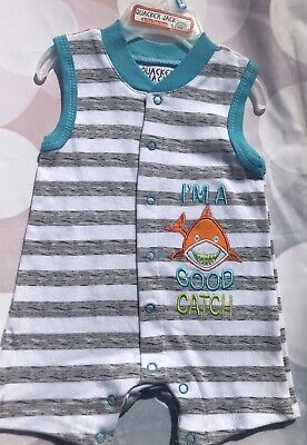 Newborn 0-3 month Infant Baby Boy Romper /Bodysuit Clothes  New FREE SHIPPING