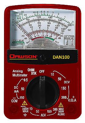 Dawson Dan100 Pocket Size Acdc Voltage Resistance Analog Multimeter