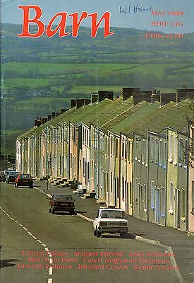 """JOHNSTOWN - GWENALLT - WILLIAMS PANTYCELYN - WELSH MONTHLY """"BARN"""" No 316 (1989)"""