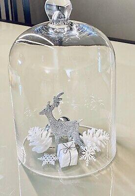 4 Stück Klebestein Glaskuppel Glascabochon 0,67€//1Stk 25 x 18 mm