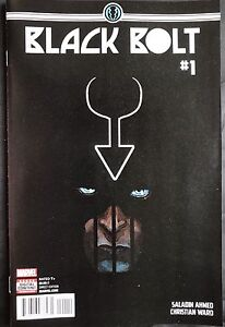 Marvel Comics Black Bolt #1 Signed By Christian Ward