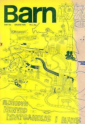 "HANES SEIONIAETH - MATI REES - EUROS BOWEN  - WELSH MONTHLY ""BARN"" No 156 (1976)"