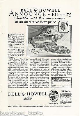 Винтажные книги 1928 Bell & Howell