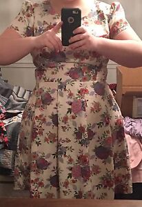 Forever 21 Floral Dress - PRICE REDUCED