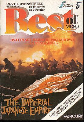 BEST OF VIDEO 05/88PEAL HARBOR IMPERIAL JAPANESE EMPIRE CARRADINE ROBERT