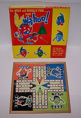 Wa-hoo Board Game NIB Vintage 1959 For Wild and Woolly Fun Play, used for sale  Shipping to Canada