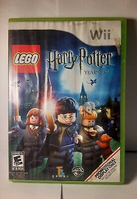 Lego Harry Potter: Years 1-4 (Xbox 360, 2010) Game W/ Wii Cover~See Description