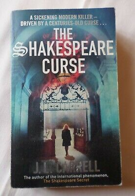 J L Carrell: THE SHAKESPEARE CURSE - Kate Stanley #2 [Paperback]
