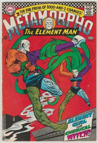 Metamorpho No.13 Aug.1967  Key 1st  Element Girl in 6.5