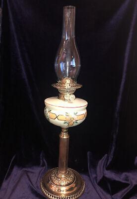 ** Rare Antique ** Original Victorian Oil Lamp