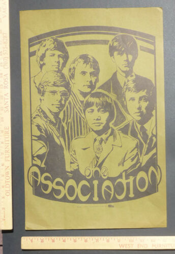 The Association Personality Headshop Poster Saladin Productions 1967