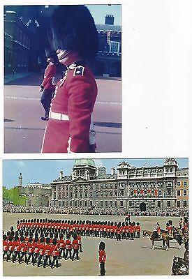5/467  FOTO + AK LONDON SOLDATEN LEIBGARDE PFERDE