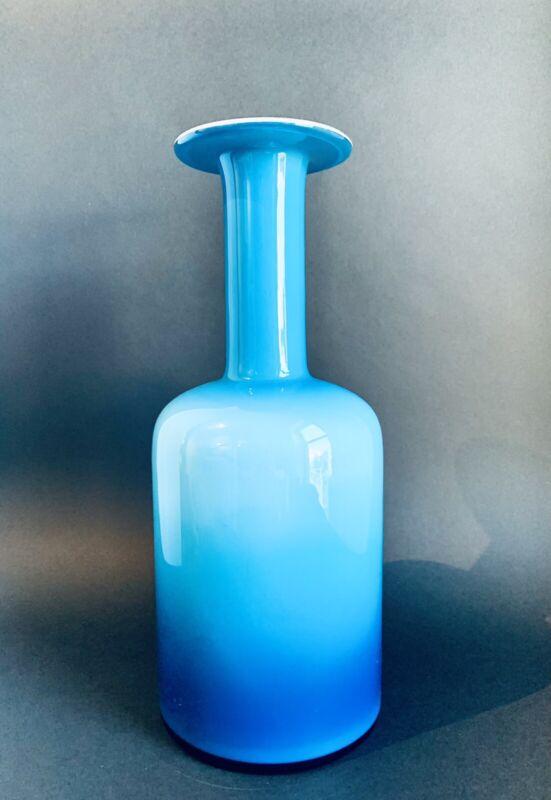 """HOLMEGAARD Gulvase 14"""" Blue"""