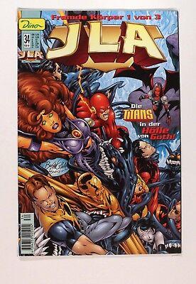JLA, Die Titans in der Hoelle von Goth! # 34/2000, Fremde Koerper 1 von 3