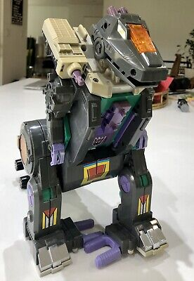 Vintage 1986 Transformers Trypticon Dinosaur Battle Station Play Set Hasbro