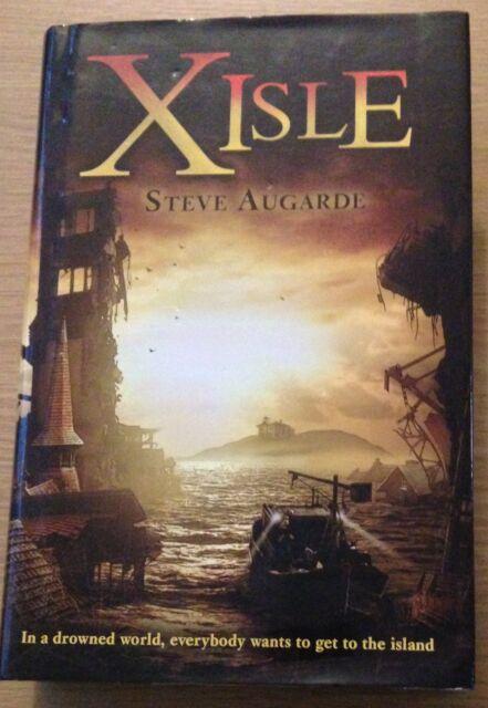 X-ISLE Steve Augarde Book (Hardback)