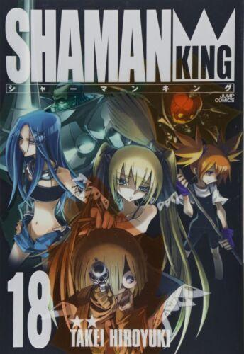 Hiroyuki Takei manga: Shaman King Kanzenban vol.18 Japan