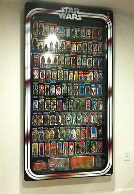 STAR WARS Display Case vinyl graphic Border kit and background. Build your -