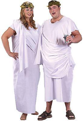 Übergröße Unisex Toga Griechisch Römisch Kaiser Gut Göttin Herren - Unisex Römischen Toga Kostüm