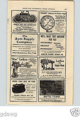 1905 PAPER AD The Wagner Motorcycle Co St. Paul Minn Twin Forks