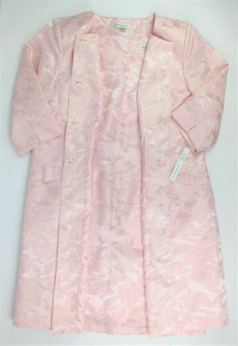 NWT $220 Danillo-Stefani Womens Plus Size 18W Floral Jacket 2-Piece Dress Suit