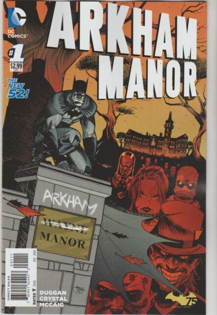 DC COMICS ARKHAM MANOR #1 DECEMBER 2014 1ST PRINT NM