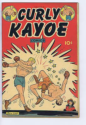 Curly Kayoe Comics #1 United Features Pub 1946