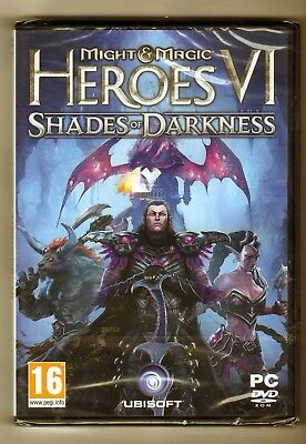 Might  Magic Heroes 6 - Shades of Darkness VF NEUF + PACK DEMARRAGE DUEL