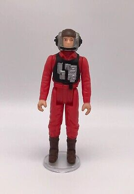 "Vintage Star Wars B-Wing Pilot 3.75"" Action Figure 1984 No Coo"