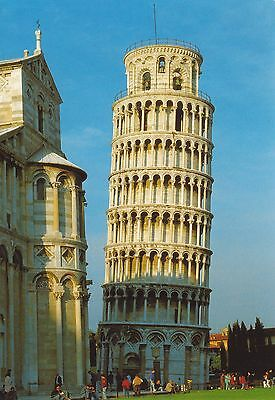 Toskana Schiefer (Ansichtskarte Pisa Schiefer Turm Toscana Toskana Pisa - Nr.23)