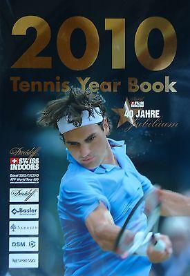 2010 Tennis Year Book 40 Jahre Jubiläum