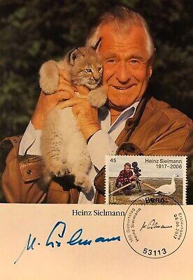 Autogramm Heinz Sielmann (2006+) Tierfilmer Mi Bund 3318 Ersttag gestempelt 191#