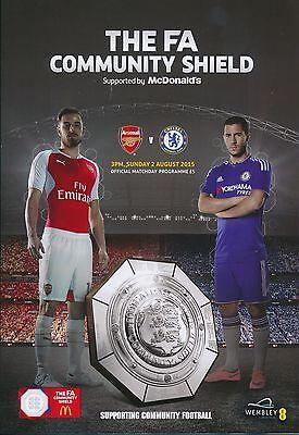 FA COMMUNITY SHIELD 2015 Arsenal v Chelsea