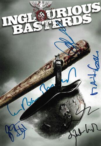 "Inglourious Basterds ""Quentin Tarantino"" Autogramme signed 20x30 cm Bild"