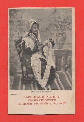 Usado, Postal- bélgica - Fabricante de encaje flamenco (J4338) segunda mano  Embacar hacia Argentina