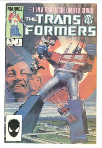 TRANSFORMERS #1 VG/F 5.0 1ST PRINT 1ST APPEARANCE MARVEL COMICS 1984