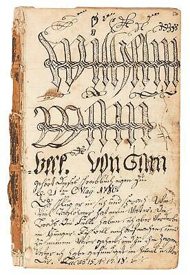 Revolutionary War-Dated Religious Manuscript - New York 1777-1780 - w/ 221 Pages