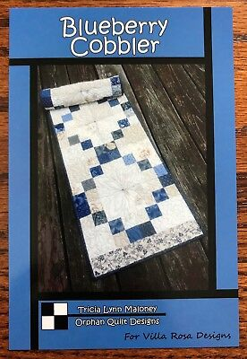 Used, Blueberry Cobbler Quilted Table Runner Pattern for sale  Fairfield