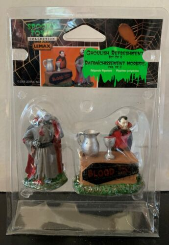 LEMAX SPOOKY TOWN - Ghoulish Refreshments #82463 (2008)