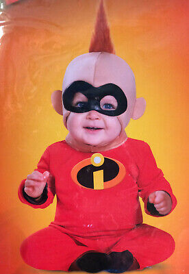 Incredibles 2 Jack-Jack Baby Halloween Costume Jumpsuit & Mask 12-18 Month - New](2 Month Halloween Costume)