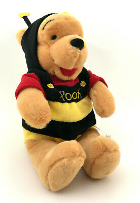 - Disney Store Winnie the Pooh in Bumble Bee Costume Soft Plush Stuffed Toy 10