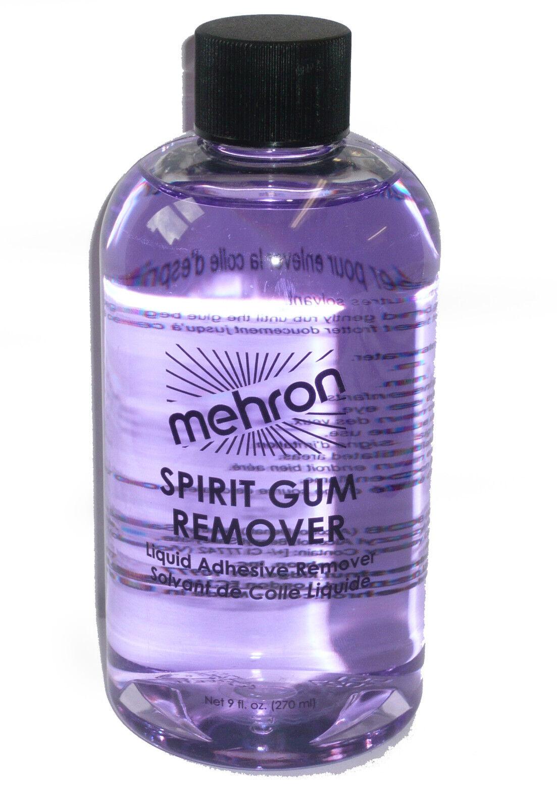 Spirit Gum Remover 9 OZ Spirit Gum Adhesive Remover Mehron 143 - $13.88
