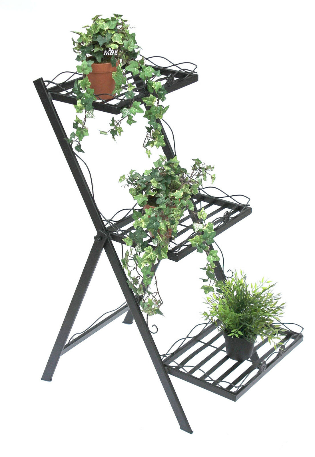 scala Fiori Fiorina in metallo 94 cm spezie per piante fioriera